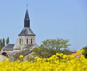 Patrimoine - Eglise de Saint Valérien en Vendée entre la Roche-sur-Yon et Fontenay-le-Comte