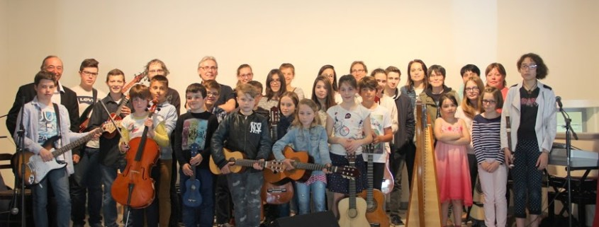 AUDITION de l'école de musique Harmonia Saint Valérien