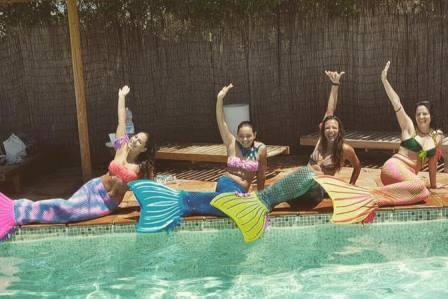 foto mermaid party