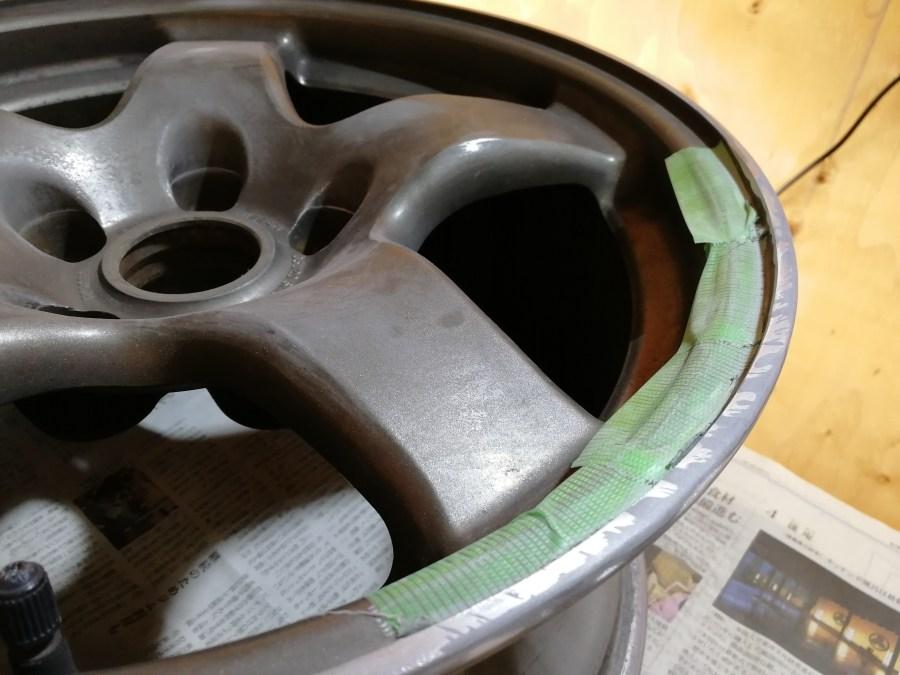 R32-GTR 純正ホイール