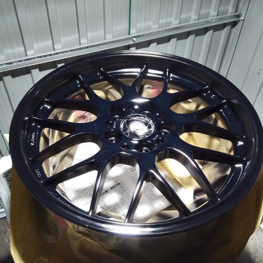 BBS RG-R ホイールリメイク ブラック塗装