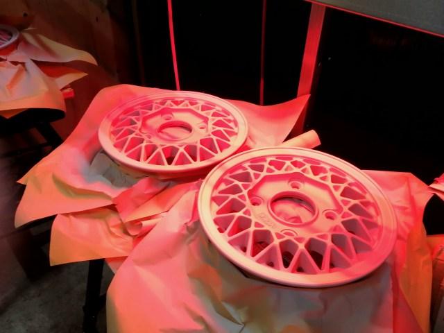 RAYS レイズ ボルクレーシング10インチホイール カラーチェンジ プライマー塗装