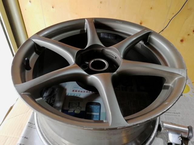 スカイライン R34 GT-R 純正色再塗装 傷補修前