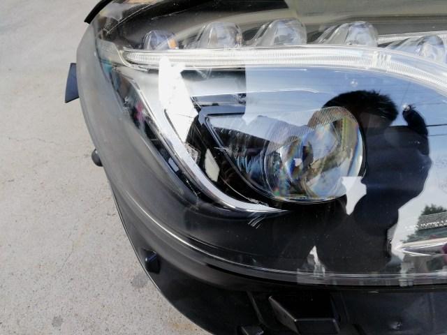 メルセデスベンツ W212 ヘッドライト磨き&コーティング 施工前