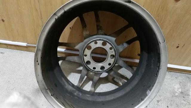 レーシングハート CP-035 ホイール歪み修正前