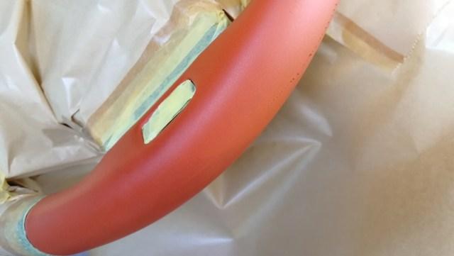 レクサス RC F カーボンエクステリアパッケージ ステアリング傷補修 クリーニング後