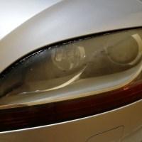 アウディTT RS ヘッドライトコーティング スパシャンヘッドライトスチーマー2 施工前