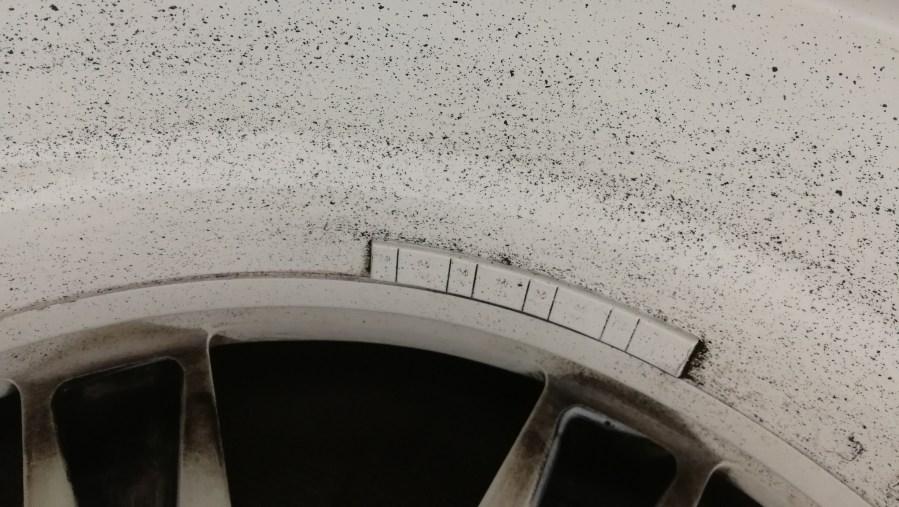 スカイライン R35GT-R 純正ホイール色替え 刈谷市
