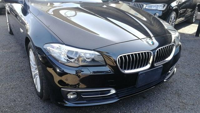 BMW523iツーリング 運転席レザーシートリペア