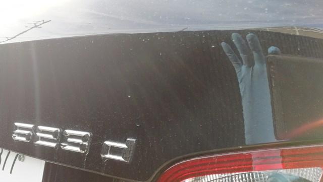 BMW 523d シート傷補修 ステアリング擦れ補修