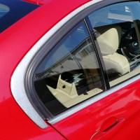 BMW 320i メッキモールコーティング前