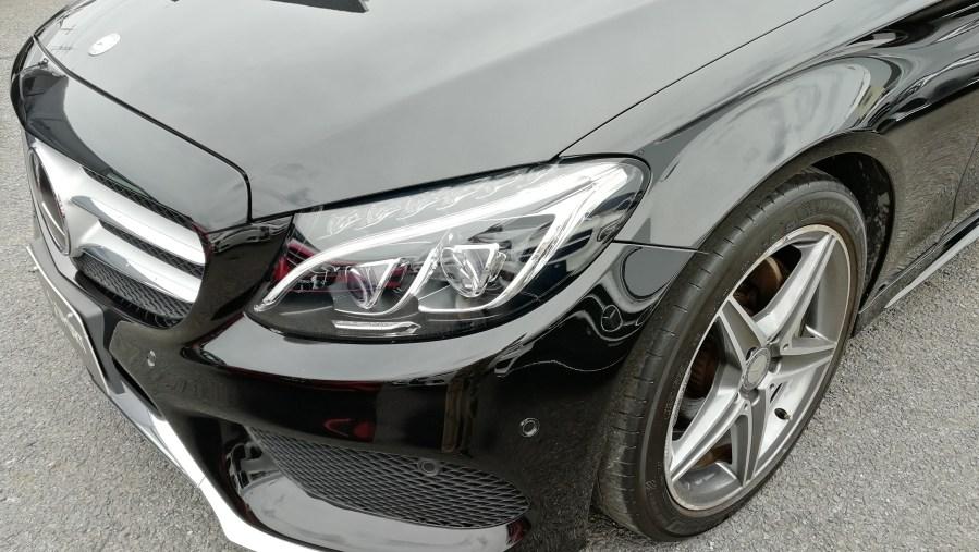 メルセデスベンツ C200ワゴン ダイヤモンドカットホイール傷修理