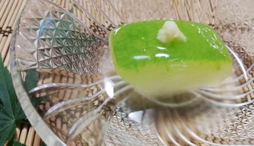 駈の精進料理~冬瓜の冷製翡翠煮~
