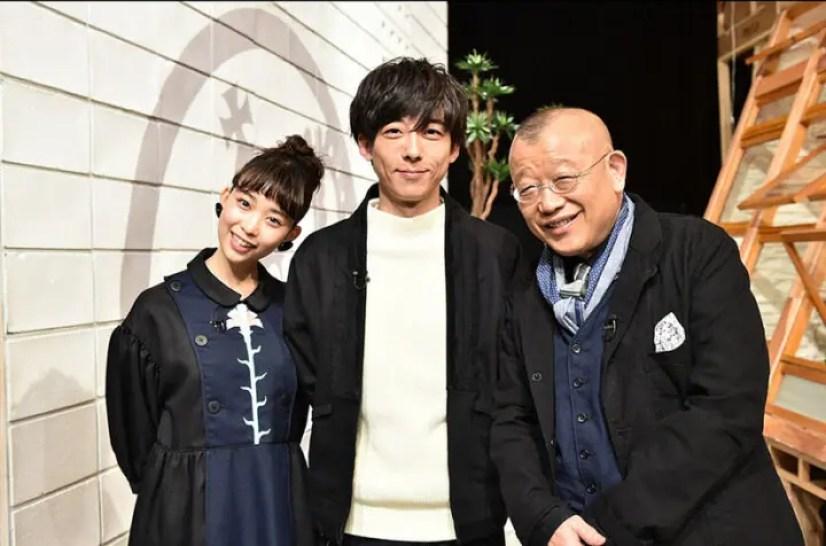 高橋一生と森川葵のエースタジオ画像