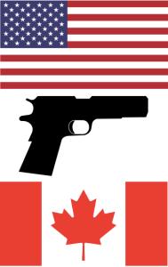 Gun Exports US Canada (Satire)