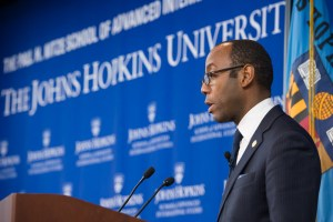 NAACP President Cornell Brooks highlighting the impact of history in today's human rights struggle. (Photo: Kaveh Sardari)