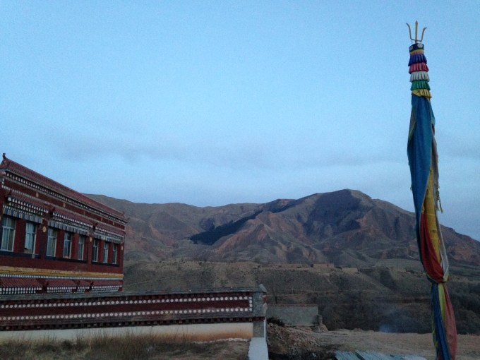 This Buddhist nunnery was just one of many temples in the nearby villages (Photo: Chase Stewart)