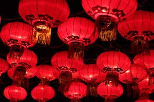 Nian is scared of the color red so bright lanterns will keep him at bay.