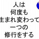 人は何度も生まれ変わって一つの修行をする斎藤一人|仕事がうまくいく315のチカラ102