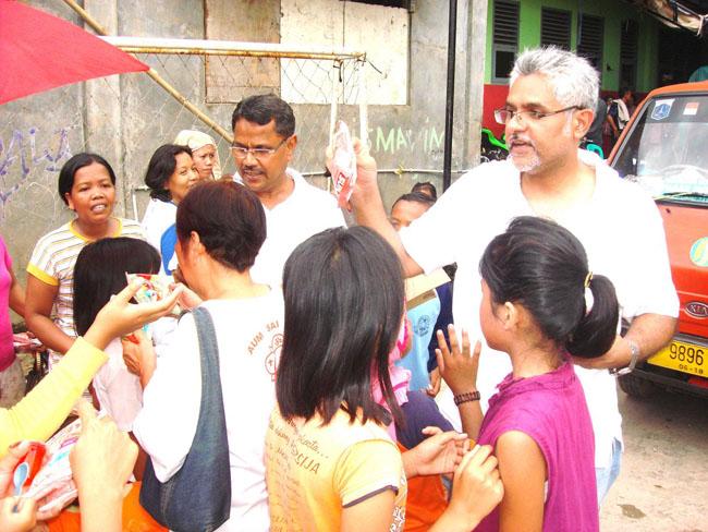 Distributing Food and Supplies