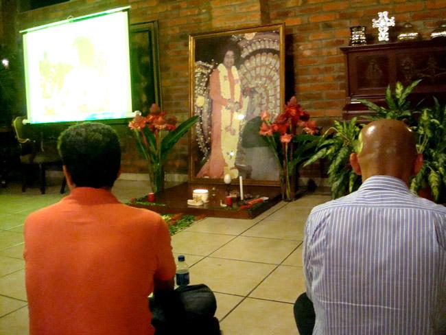 Maha Samadhi observation in El Salvador