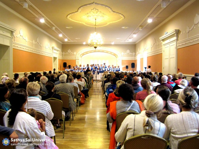 Z7 Lithuania - Sarva Dharma Choir at Palanga Kurhaus Hall
