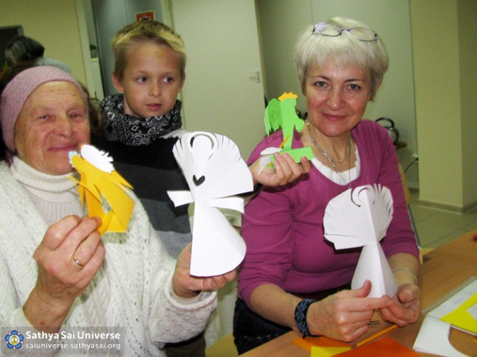 Children's Crafts at Kaunas Centre
