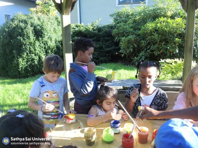 Children's programme on Avatar Declaration Day