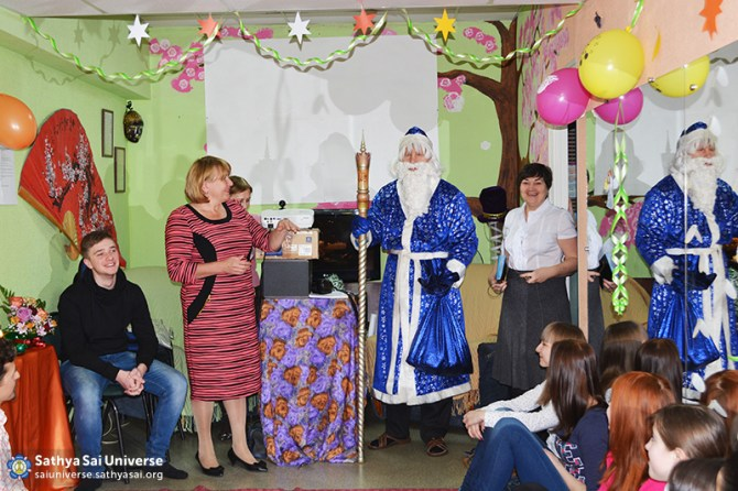 2015.01.3-8Z-Russia-Siberian region of Kemerovo - Baby Conference - Greetings Santa Claus