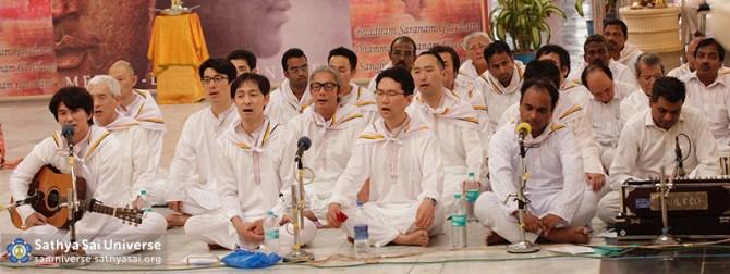 Buddha Purnima Choir - Mens side