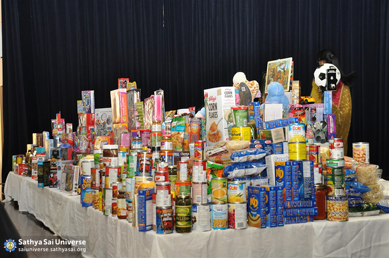 Z1 Canada Toy Drive food items