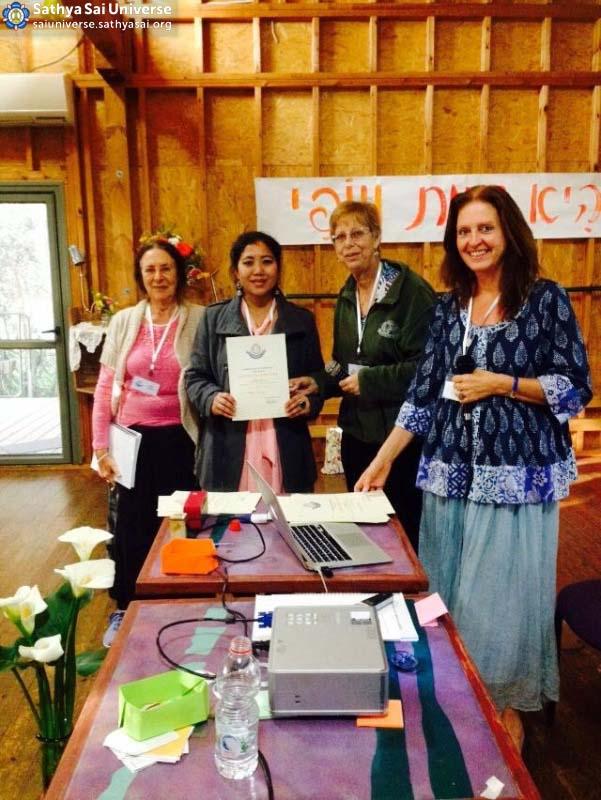 NCP, NC deputy, National Spiritual coordinator, giving attestation to NYC copy