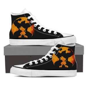 DBZ Kid Son Goku Super Saiyan Great Ape Golden Sneaker Shoes