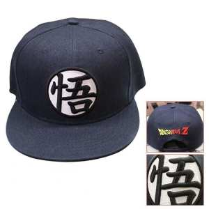 Dragon Ball Cool Black Goku Hip Hop Snapback Hat Cap - Saiyan Stuff