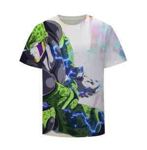 Dragon Ball Z Android Cell Focus Fire Kamehameha T-Shirt