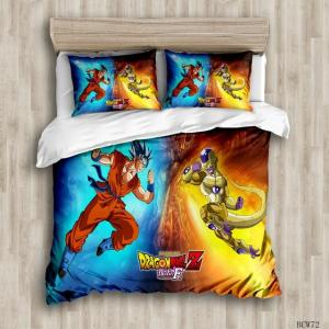 Goku Super Saiyan Blue Vs Golden Frieza Bedding Set