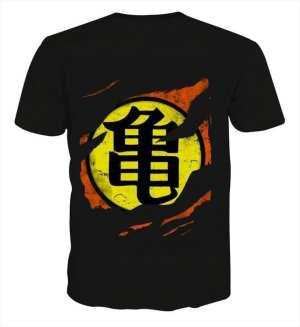 Dragon Ball Master Roshi Symbol Kanji Japanese Cool Design T-shirt