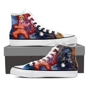 Naruto Uzumaki Jinchuuriki Demon Fox Rasengan Sneakers Shoes