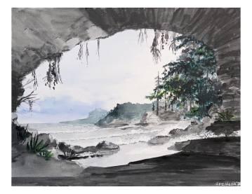 Cave at Beach-2020