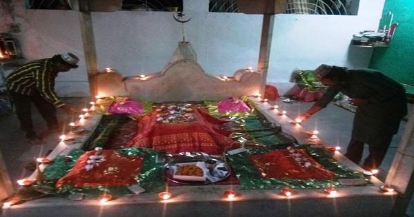 celebrated Deep utsav Ha. Sayyed Mohammad Saheb Panchpiar Dargah