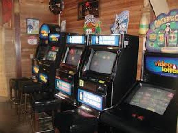 Police raids on video games and lottery centers
