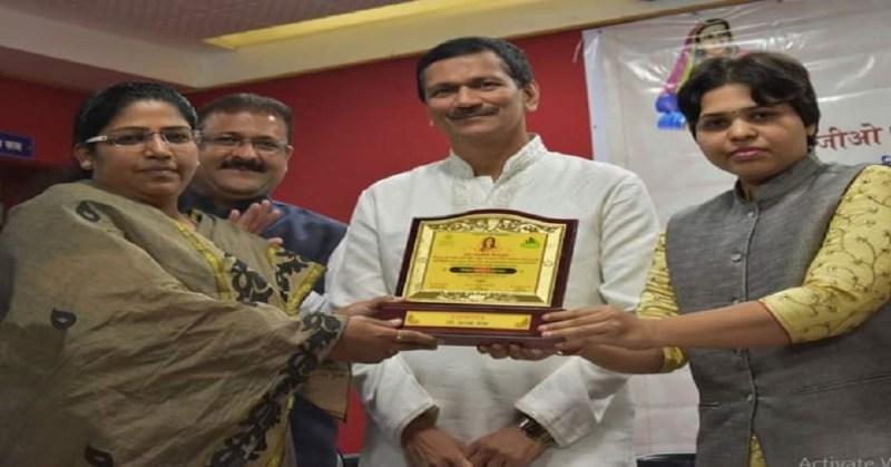 Jijau Samaj ratna Award Asma Shaikh Patel honored