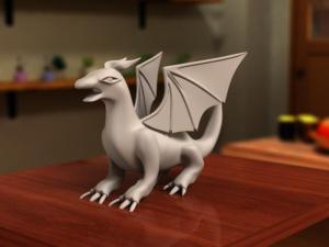 ドラゴンモデリング8