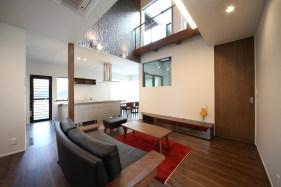 新築住宅 竣工写真 「○ THE BASE の家」 6
