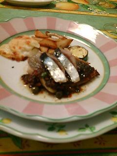黒鯛オリーブオイル焼き