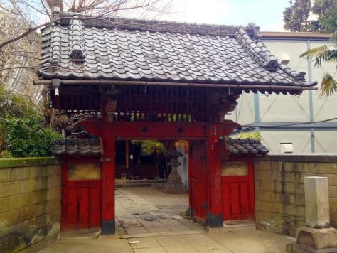 善光寺もう一つの門(月参堂)
