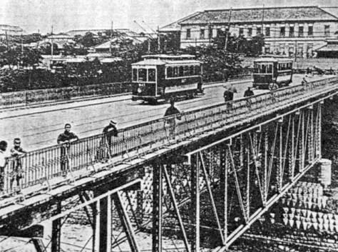 明治40年のお茶ノ水橋