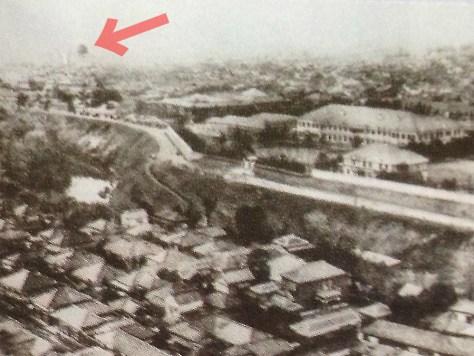 古写真:ニコライ堂から撮った古写真