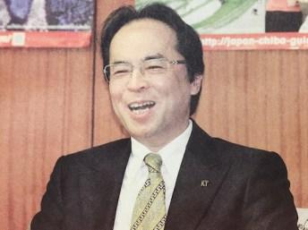 菊池社章が森田知事と対談
