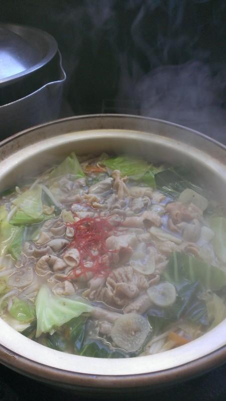 こちらのお鍋は「小鍋」ではなく、大人数用の「大鍋」です(笑)